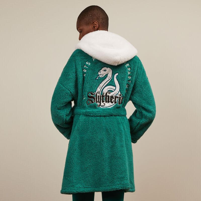 peignoir en polaire Serpentard - vert;