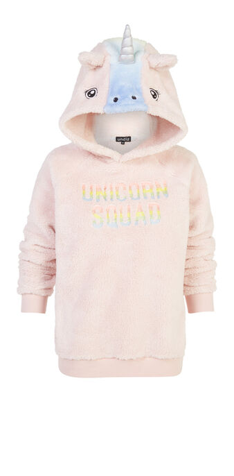 Sweat rose clair licorneiz pink.