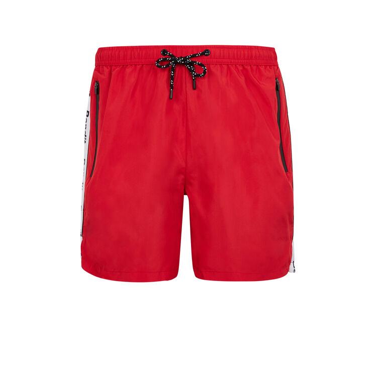 Short de bain rouge banditiz;