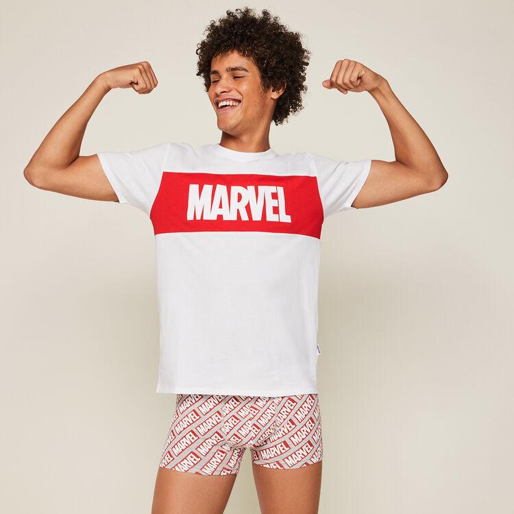 Tee-shirt print marvel skatwiz;