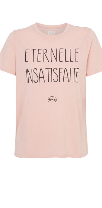 Top rose pâle eternelliz pink.
