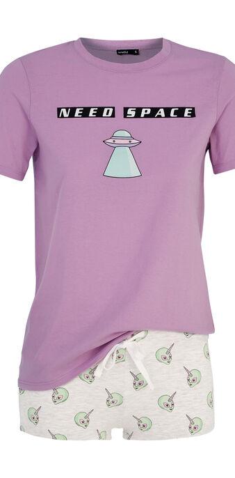 Pyjamaset paars taguidiz purple.