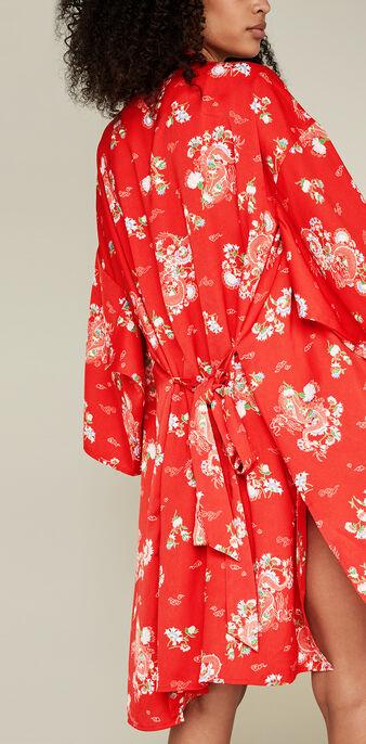 Kimono rouge japotissiz red.