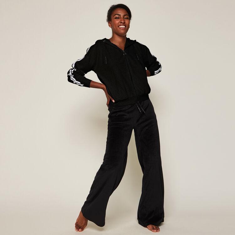 Pantalon large en velours helloiz;
