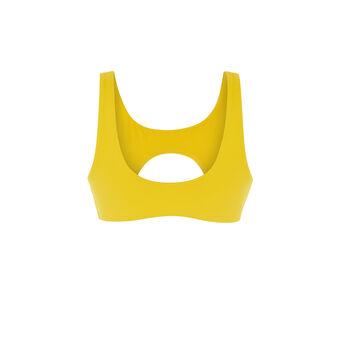 Haut de maillot de bain jaune barockiz желтый.