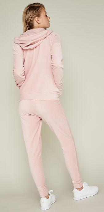 Jogging rose pâle largecrochiz pink.