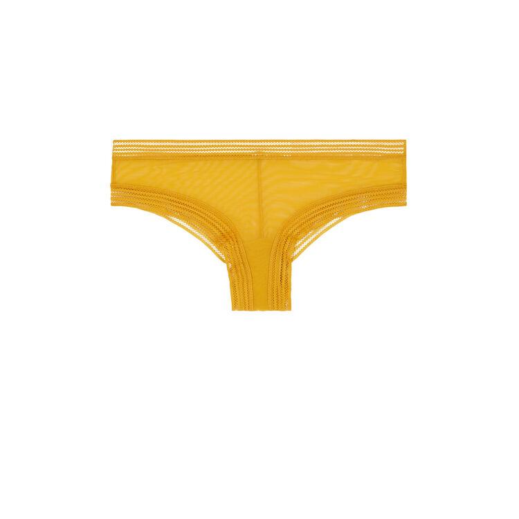 Shorty jaune moutarde wafiz;