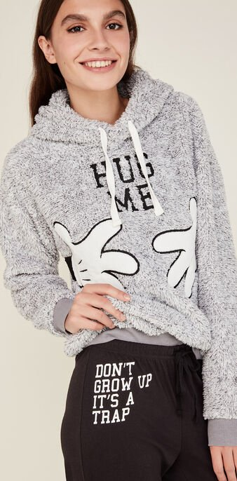Sweat gris mickimiz grey.