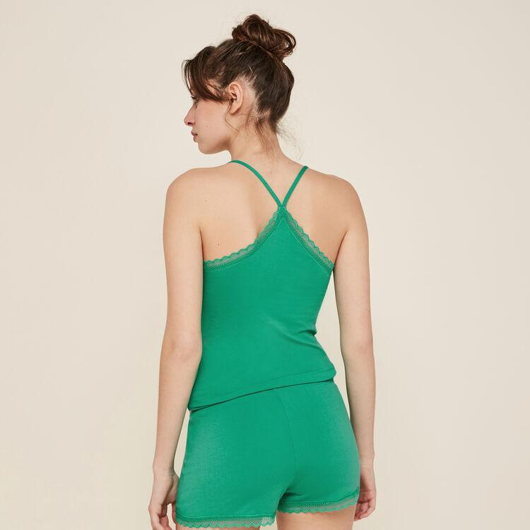 Short vert émeraude vitamiz;