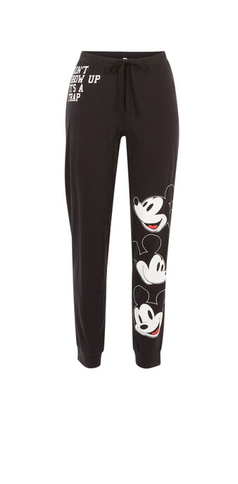 Pantalon jogging noir chrismiz black.