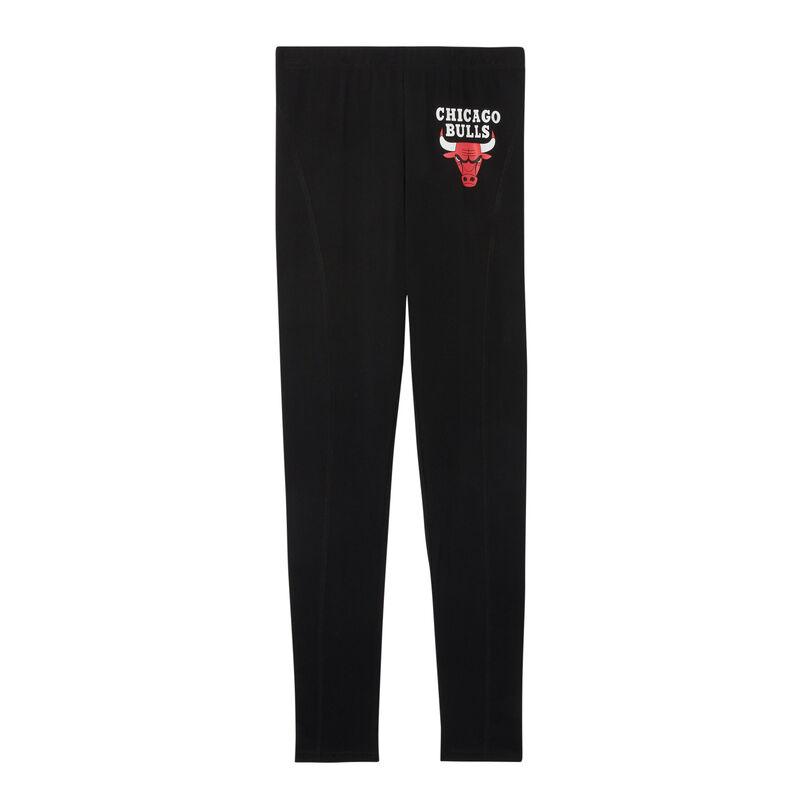 chicago bulls legging - zwart;