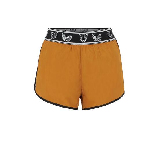 Short couleur ocre punksportiz;