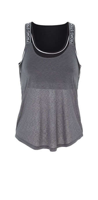 Top gris croistiz grey.