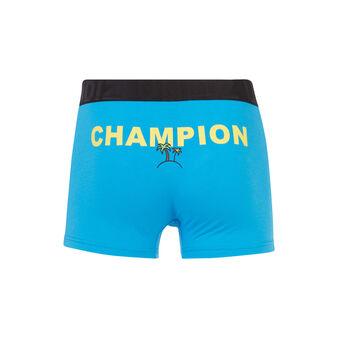 Boxer bleu deliciousiz blue.