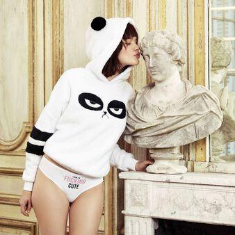 Shorty blanc pandacutiz white.