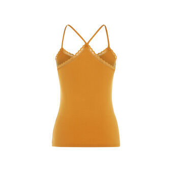 Top jaune moutarde vitamiz yellow.