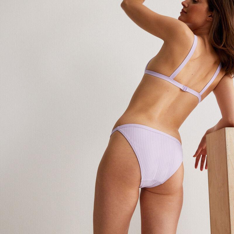 Bikinibroekje in slipvorm - paars ;