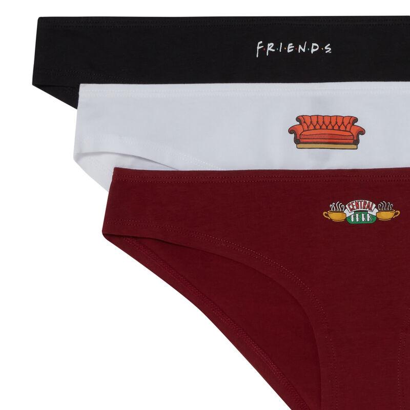 set van 3 slips Friends - paars;