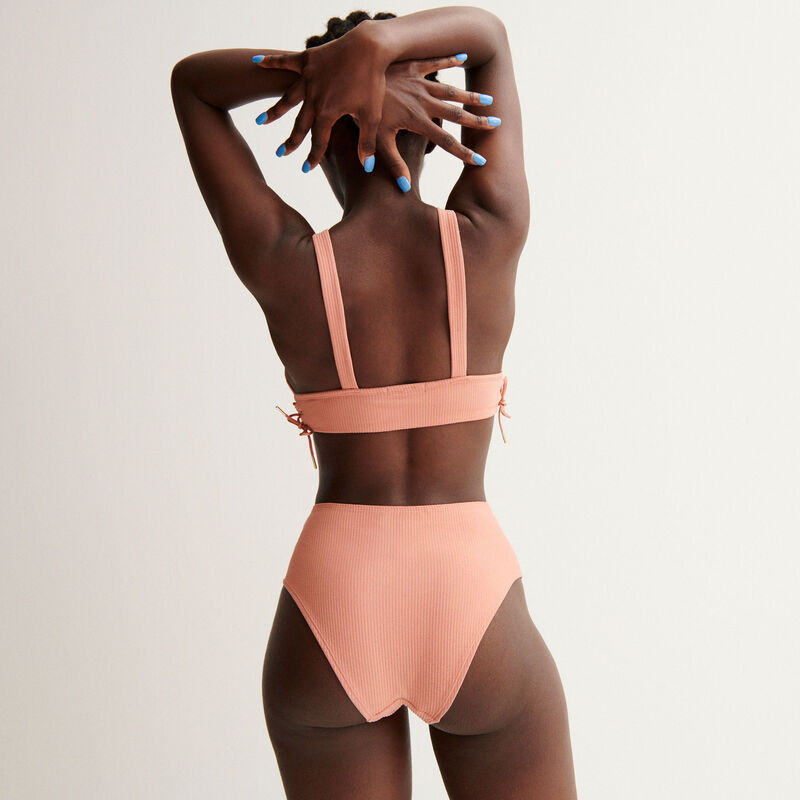 Aya x undiz beha met strikjes - nude-roze;