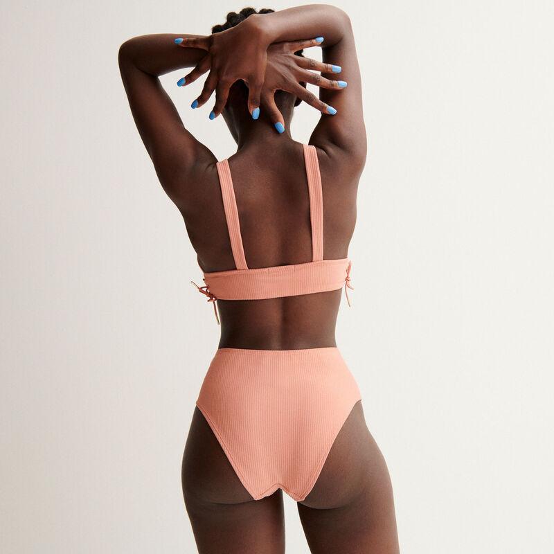 Aya x undiz slipje met hoge taille - nude-roze;