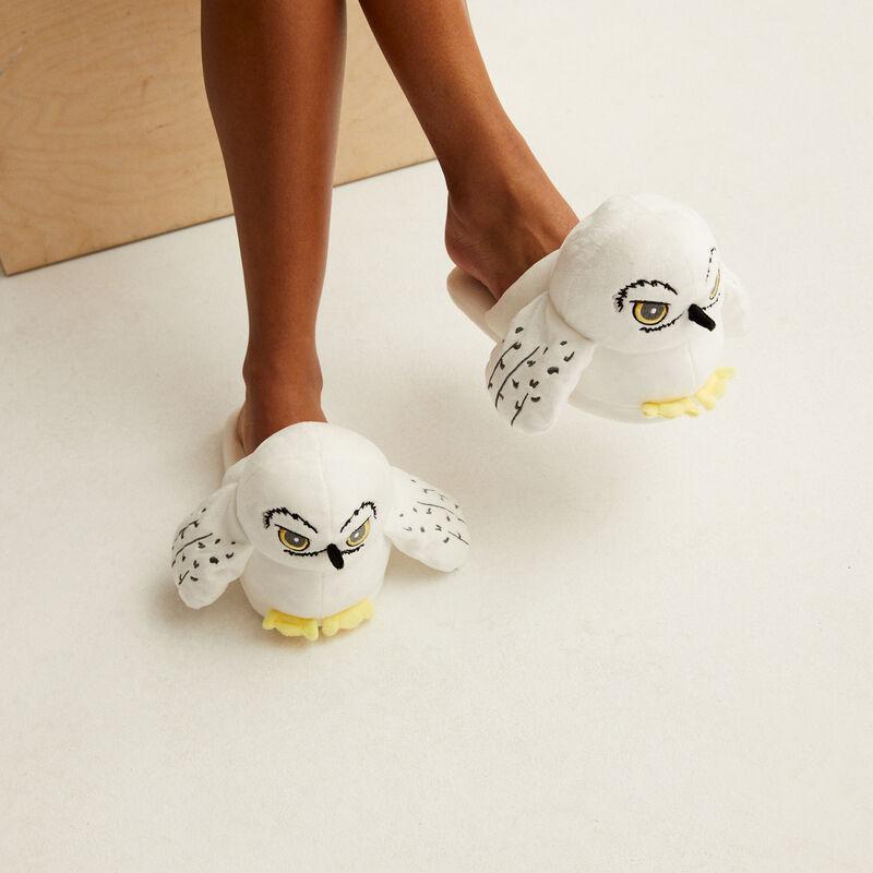 Hedwigpantoffels - wit;