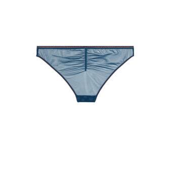Culotte embroderiz bleue  blue.