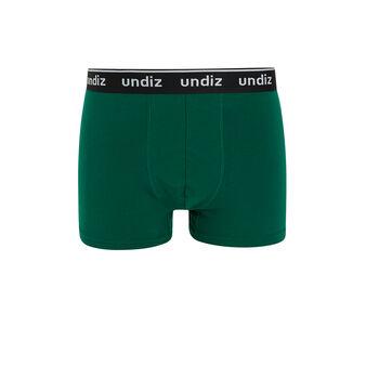 Boxer coton vert chagardiz green.