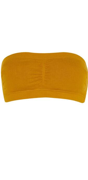 Bandeau jaune moutarde bandeauwiz yellow.
