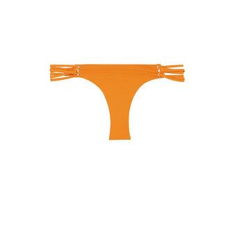 Bas de maillot de bain orange fusioniz orange.