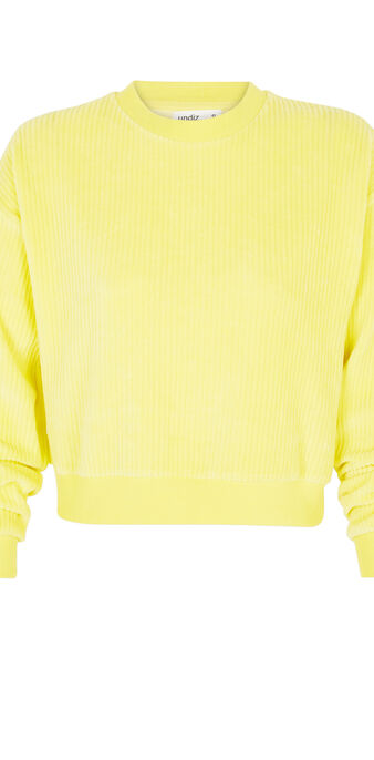 Sweat jaune chipitiz yellow.
