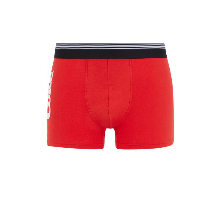 Boxer rouge cokikie;