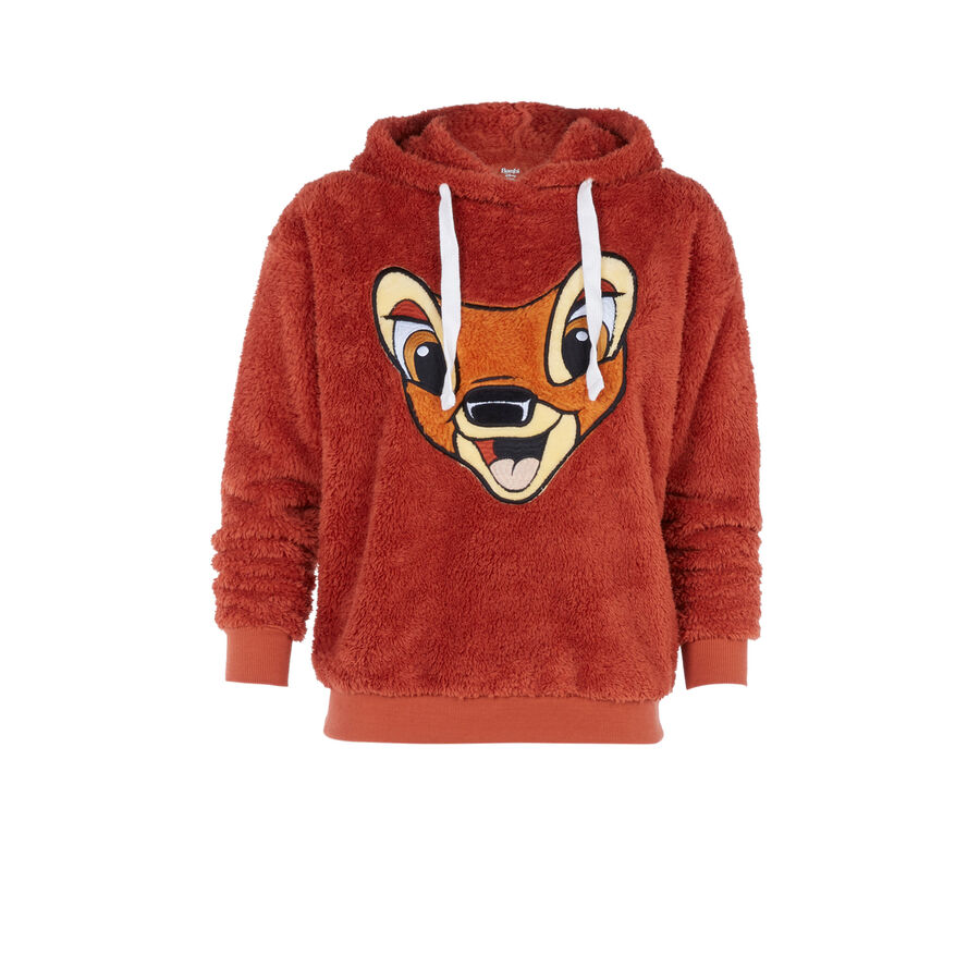 Sweat Bambi marron bambixiz;