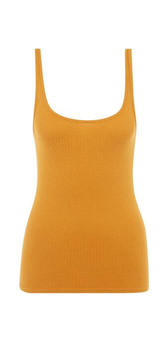 Top jaune moutarde debidiz yellow.