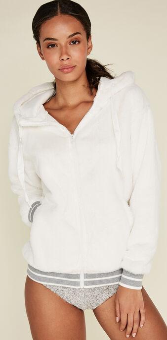 Veste blanc cassé toupoiliz white.