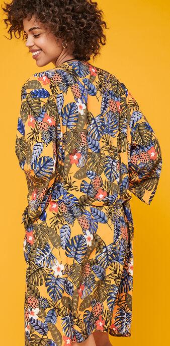 Kimono orange casablankiz orange.