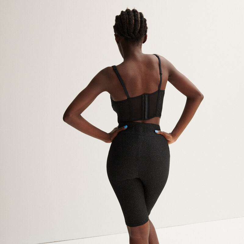 Aya x undiz wielrenmodel - zwart;