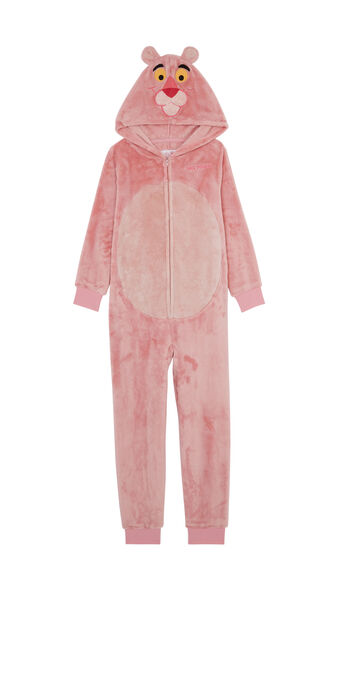 Combinaison enfant rose pantherosiz pink.