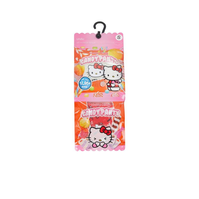 Lot de deux culottes en coton print Hello Kitty hellokittiz;