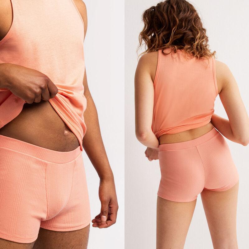 effen jersey unisex shorts - perzik;