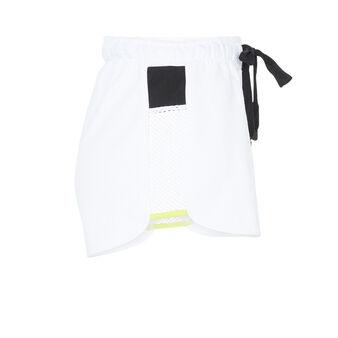Short blanc shortmeshiz white.