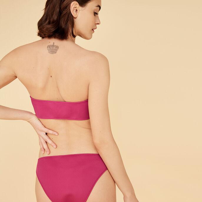 Haut de maillot de bain bandeau fuchsia floridiz розовый.