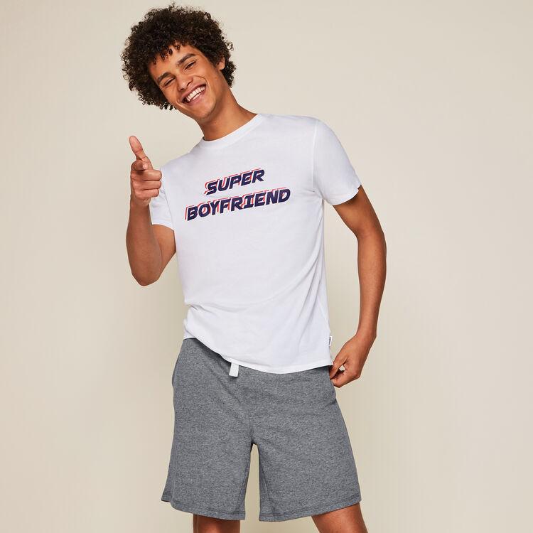 Set pyjama a message superboyiz;