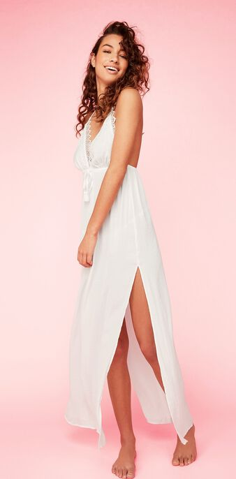 Robe blanche sowonderiz  white.
