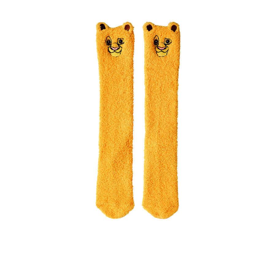 Chaussettes hautes jaunes simbabiz;${refinementColor}