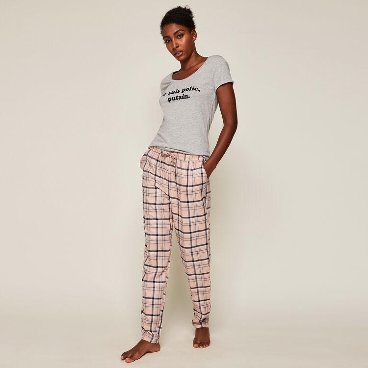 Pantalon à carreaux vintartiz;