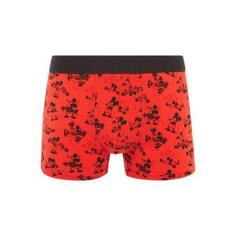 Boxer rouge soupliz black.