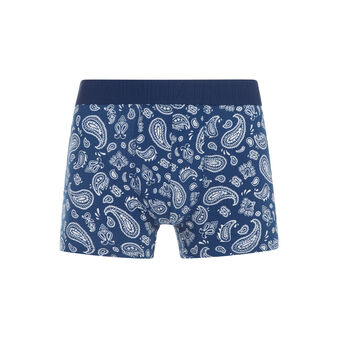 Boxer bleu marine bandoniz blue.