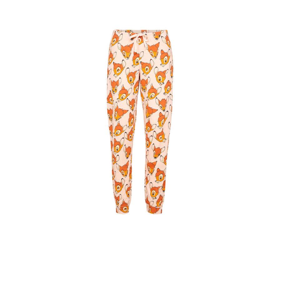 Pantalon jogging rose bambixiz;