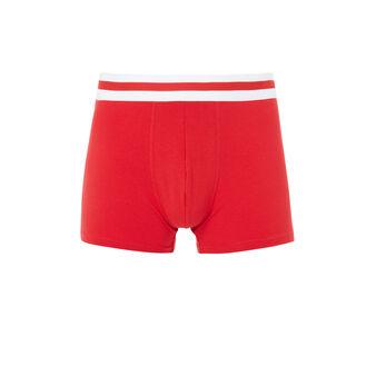 Boxer rouge gangastiz red.