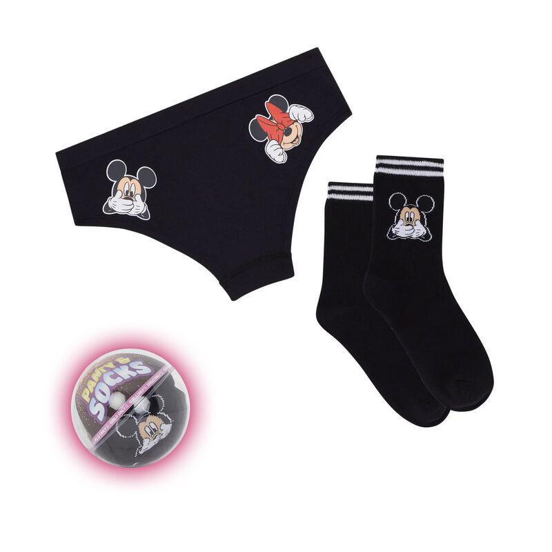 Set shorty + chaussettes imprimé Mickey ohboyiz;
